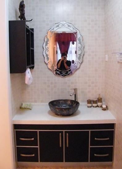 家电:洗衣机:水管,水龙头.液晶电视:墙上挖洞的位置.图片