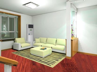 楼房地热装修效果图