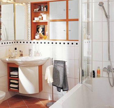 洗手台与马桶隔断效果图